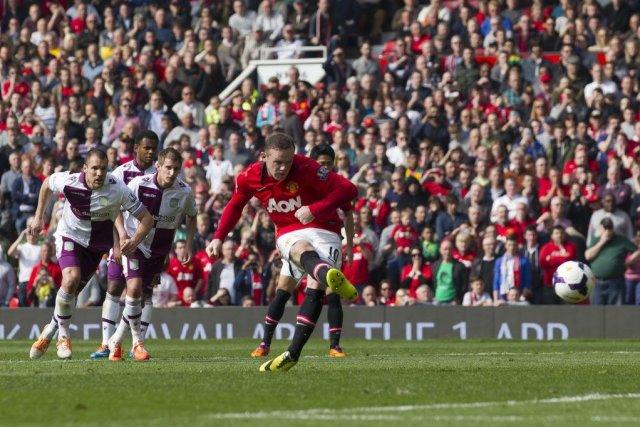 Rooney a une nouvelle fois porté son équipe... (Photo Jon Super, AP)