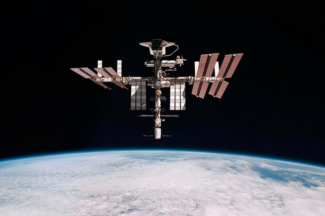 La Station spatiale internationale.... (PHOTO ARCHIVES NASA)