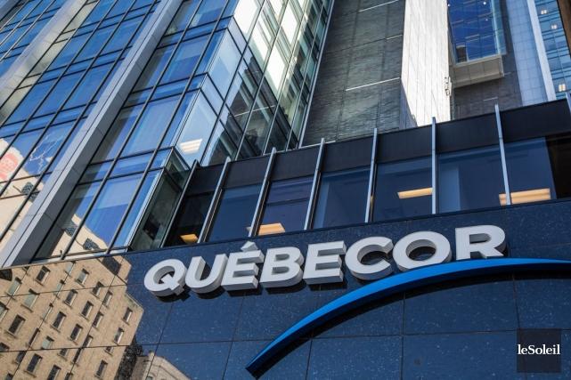 Québecor (TSX:QBR.B) a décidé de quitter l'industrie de la presse écrite... (Photothèque Le Soleil)