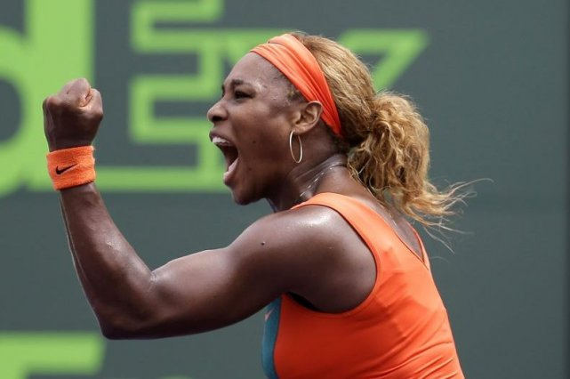 Serena Williams a remporté son troisième titre de... (PHOTO ASSOCIATED PRESS)
