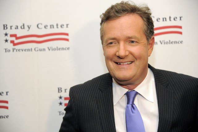 Piers Morgan... (PHOTO ARCHIVES AP)