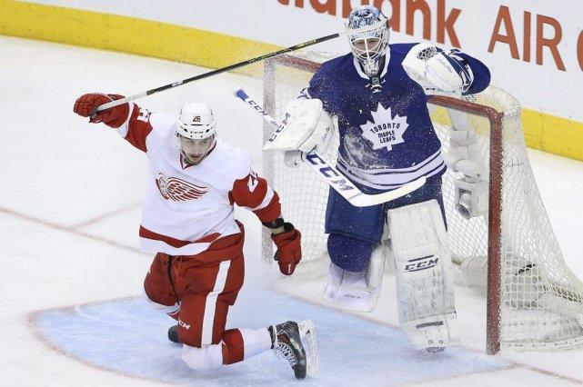 Les Maple Leafs (36-32-8) ont 80 points au... (Photo Tom Szczerbowski, USA TODAY SPORTS)