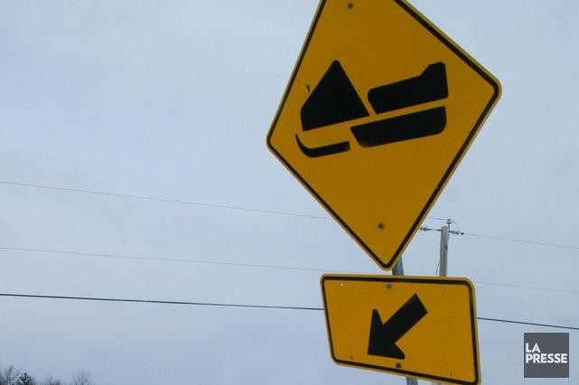 Un motoneigiste âgé de 46 ans a péri en fin de soirée, jeudi, dans Lanaudière,... (PHOTO ARCHIVES LA PRESSE)
