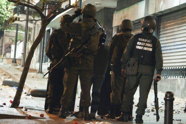 Plus de 30 personnes ont été tuées, alors... (Photo JUAN BARRETO, AFP)