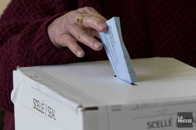 Les électeurs peuvent se prévaloir de leur droit... (PHOTO ARCHIVES LA PRESSE)
