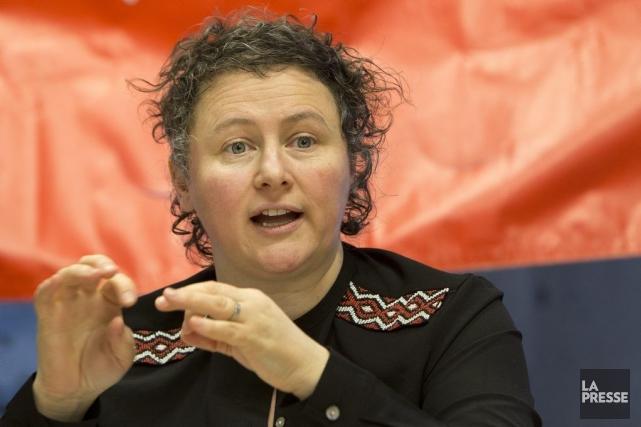 La présidente de la Fédération des femmes du... (PHOTO ROBERT SKINNER, LA PRESSE)