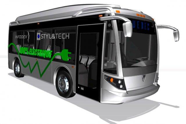 Silencieux, écologique et plus manoeuvrable qu'un bus ordinaire,... (Croquis fourni par Styl&Tech)
