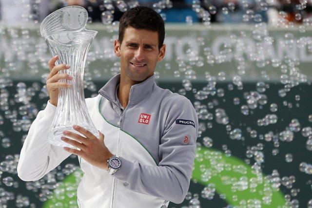 Novak Djokovic a remporté pour la quatrième fois de sa carrière le Masters 1000... (Photo: Reuters)