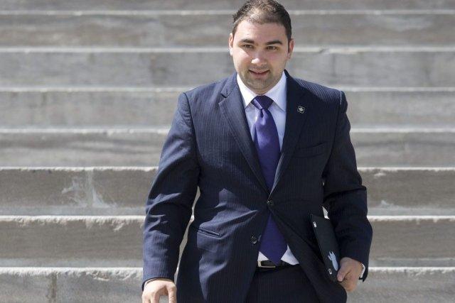 Le directeur exécutif du Parti conservateur, Dimitri Soudas, a démissionné,... (Photo: Adrian Wyld, PC)