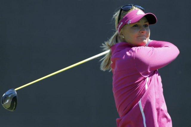La Suédoise Anna Nordqvist a connu une belle ronde de 67 pour remporter la... (Photo: AP)