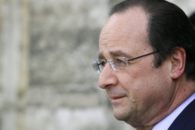 Le président françaisFrançois Hollande.... (PHOTO REUTERS)