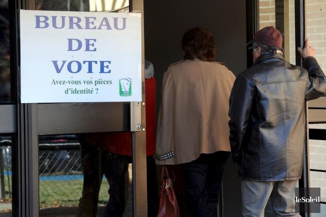 Électeurs et électrices de centre gauche, j'ai attendu la mi-campagne pour vous... (Photo d'archives Le Soleil, Erick Labbé)