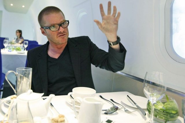Le chef Heston Blumenthal.... (Photo Associated Press)