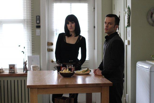 Anne-Elisabeth Bossé et Marc Beaupré dans Série noire.... (Photo: fournie par ICI Radio-Canada Télé)