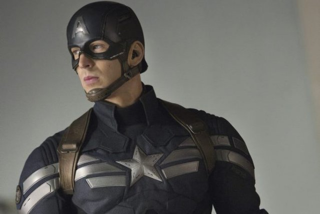 Chris Evans alias Captain America.... (Photo: fournie par Marvel)
