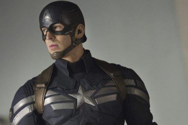 Chris Evans alias Captain America.... (Photo: fournie par Marvel)
