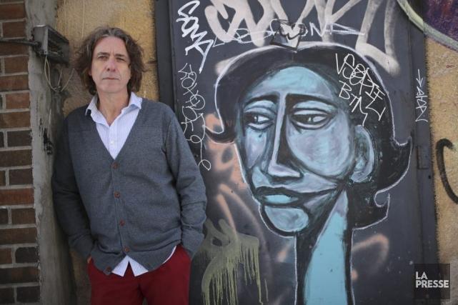 À l'image du personnage principal de son film,... (Photo: Martin Chamberland, La Presse)