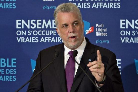 Philippe Couillard.... (La Presse Canadienne)