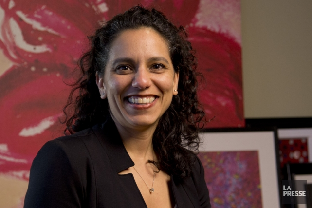 La présidente fondatrice d'Attitude Orange, Sujata Vadlamudy, est... (PHOTO DAVID BOILY, LA PRESSE)