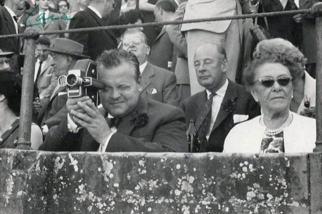 Une caméra 16 mm utilisée par Orson Welles... (Photo: AP)
