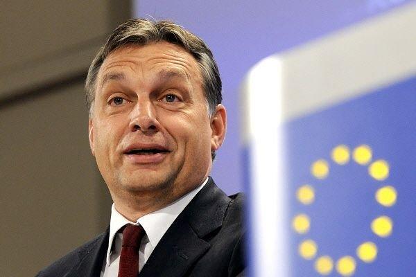 Le premier ministre conservateurViktor Orban.... (Photo: archives AFP)