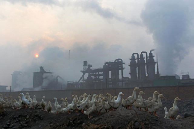Il n'est pas rare que des pollutions industrielles... (Photo AFP)