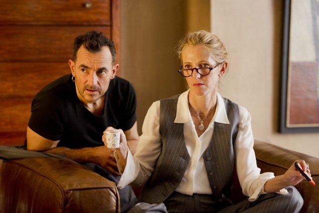Albert Dupontel et Sandrine Kiberlain dans 9 mois... (Photo: fournie par Mongrel/Métropole Films)