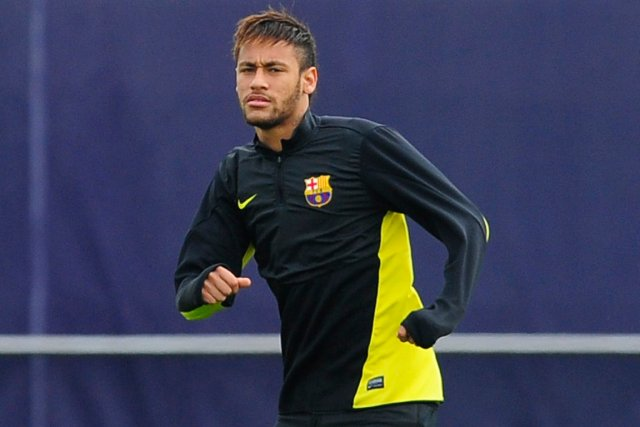 Neymar serait le plus haut salarié du FC... (Photo Manu Fernandez, AP)