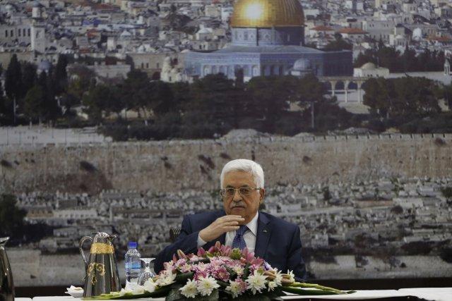 Le président de l'Autorité palestinienneMahmoud Abbas participait aujourd'hui... (Photo Mohamad Torokman, Reuters)