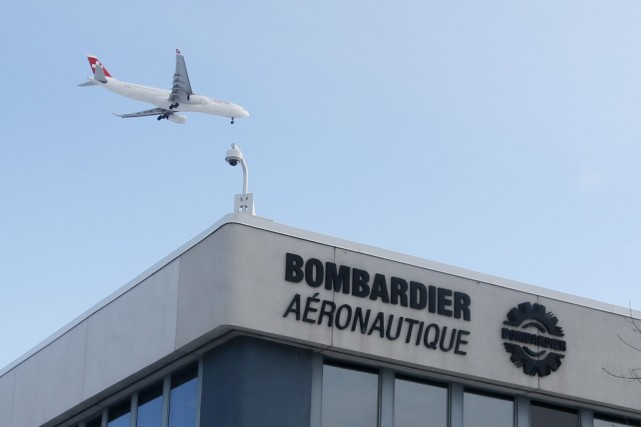 Bombardier Aéronautique a annoncé, lundi, des ententes totalisant 260,9... (Photo CHRISTINNE MUSCHI, Reuters)