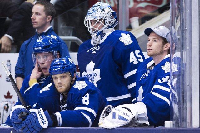 En l'espace de 18 jours, les Maple Leafs... (Photo Nathan Denette, PC)