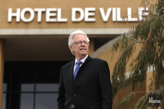 Le maire de Brossard, Paul Leduc.... (Photo: Bernard Brault, archives La Presse)