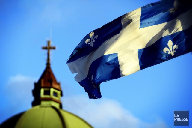 La religion catholique reste encore liée à notre... (Archives La Presse)
