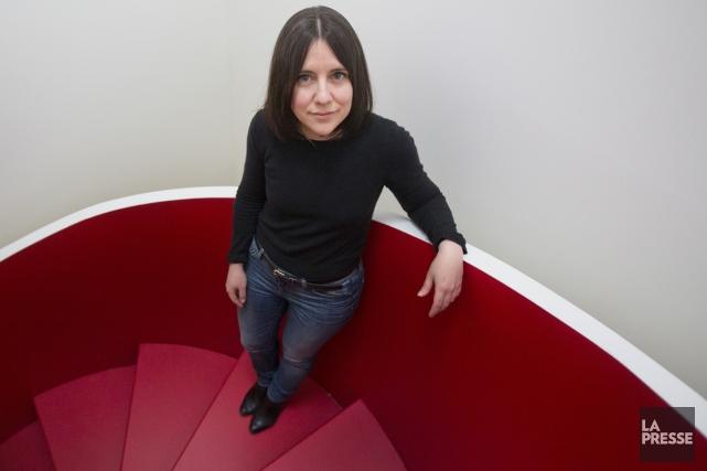 Hélène Frédérick, qui s'intéresse moins aux péripéties qu'à... (Photo: Ivanoh Demers, La Presse)