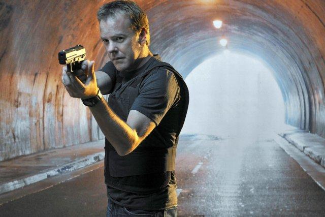 Kiefer Sutherland incarne Jack Bauer dans 24 (24... (Photo: fournie par Télé-Québec)
