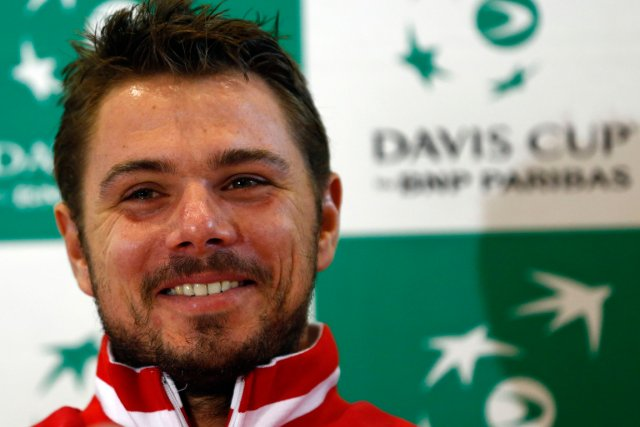 Stanislas Wawrinka... (Photo Denis Balibouse, Reuters)