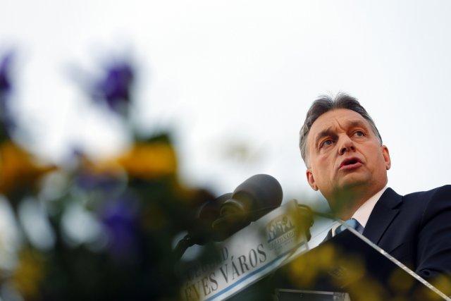 Le gouvernement conservateur de la Hongrie est mené... (Photo LASZLO BALOGH, REUTERS)
