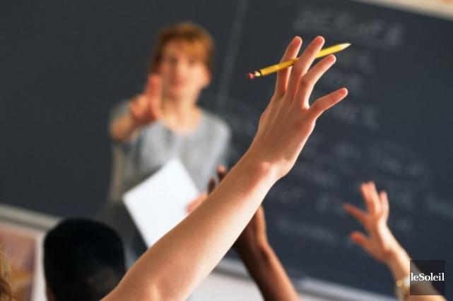 Une plateforme multimédia de langue française sera disponible dans les classes... (Photothèque Le Soleil)