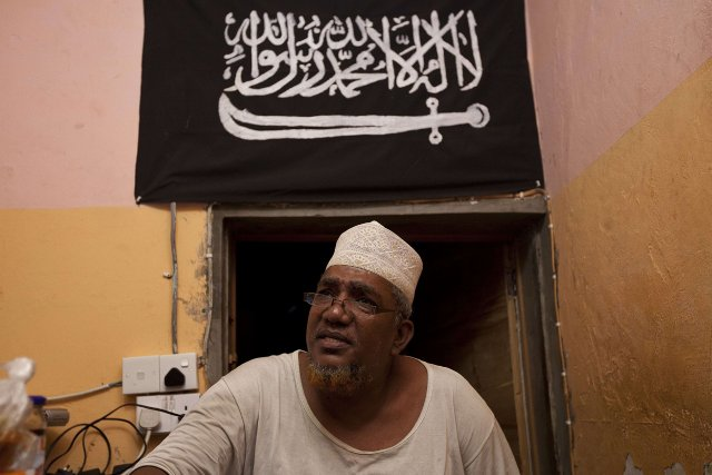 Abubaker Shariff Ahmed alias «Makaburi»... (Photo Ivan Lieman, AFP)