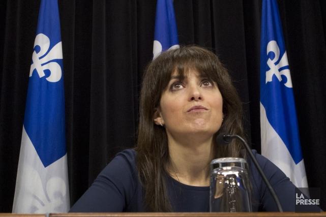 La ministre déléguée aux Services sociaux et à... (PHOTO IVANOH DEMERS, archives La Presse)