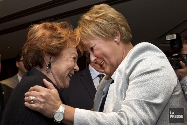 Comment Pauline Marois pouvait-elle critiquer Janette Bertrand? Tout... (Photo Robert Skinner, archives La Presse)