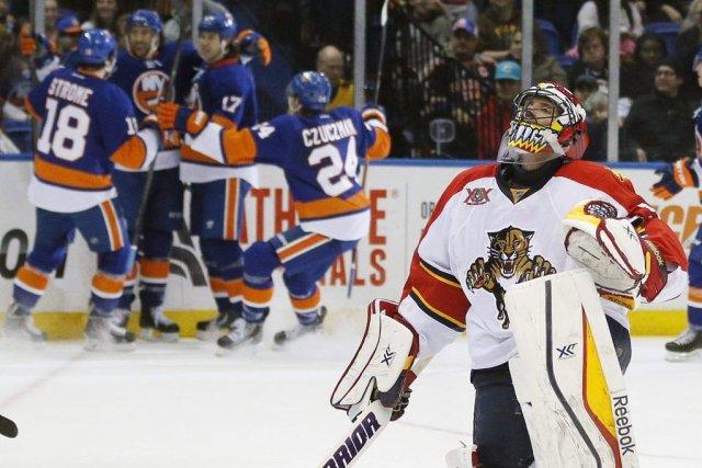 Josh Bailey a marqué un but et récolté une mention d'aide pour les Islanders de... (Photo: AP)