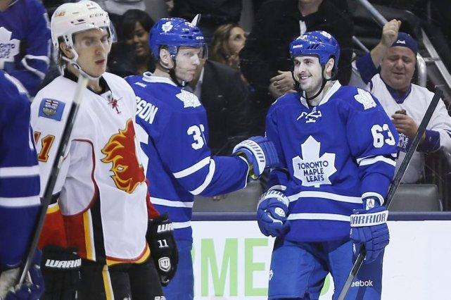 Ça n'a pas été très joli, mais les Maple Leafs de Toronto ont disposé des... (Photo: Reuters)