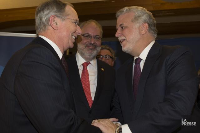 Le président du comité de transition du PLQ,... (Photo André Pichette, archives La Presse)
