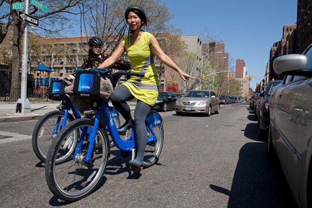 Leur silhouette bleu roi est aussi incontournable que... (Photo fournie par Citi Bike)