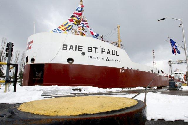 Le laquier Baie St.Paul utilise ainsi 15% de... (PHOTO PAUL CHIASSON, ARCHIVES LA PRESSE CANADIENNE)
