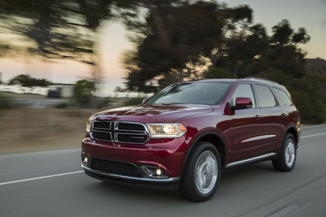 Le Dodge Durango est l'un des deux modèles... (Photo fournie par Chrysler)