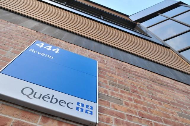 Revenu Québec a pris des mesures pour le recouvrement de sommes totalisant près... (Photo: Émilie O'Connor)