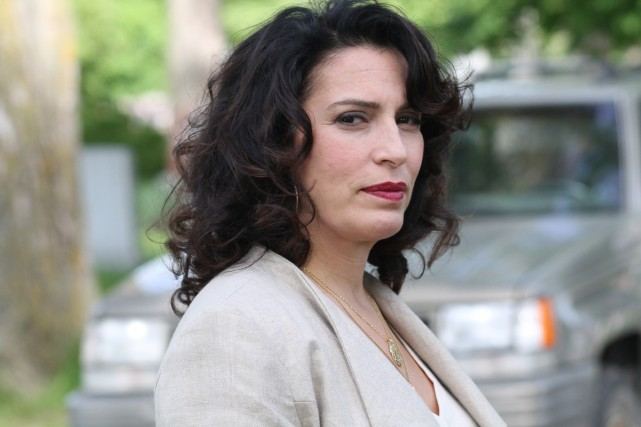 Claudia Ferri dans La marraine.... (Photo: fournie par Séries+)