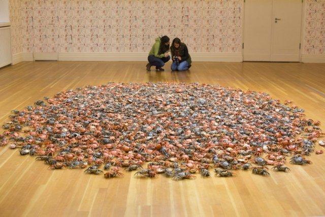 River Crabs d'Ai Weiwei... (Photo: AP)